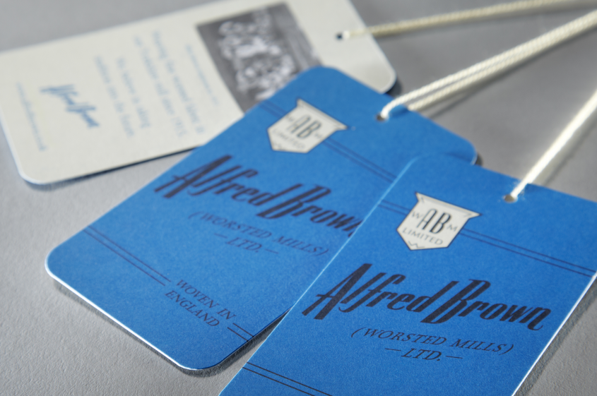 Alfred Brown – Retail garment labels